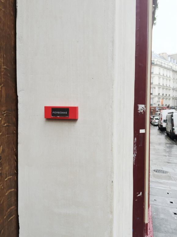 Personne - Le Sonneur – 2014 – Paris