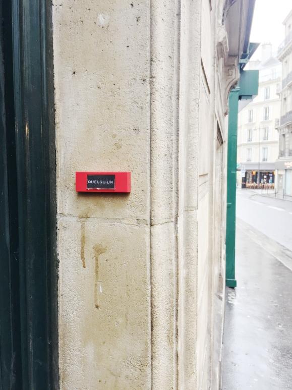 Quelqu'un- Le Sonneur – 2014 – Paris