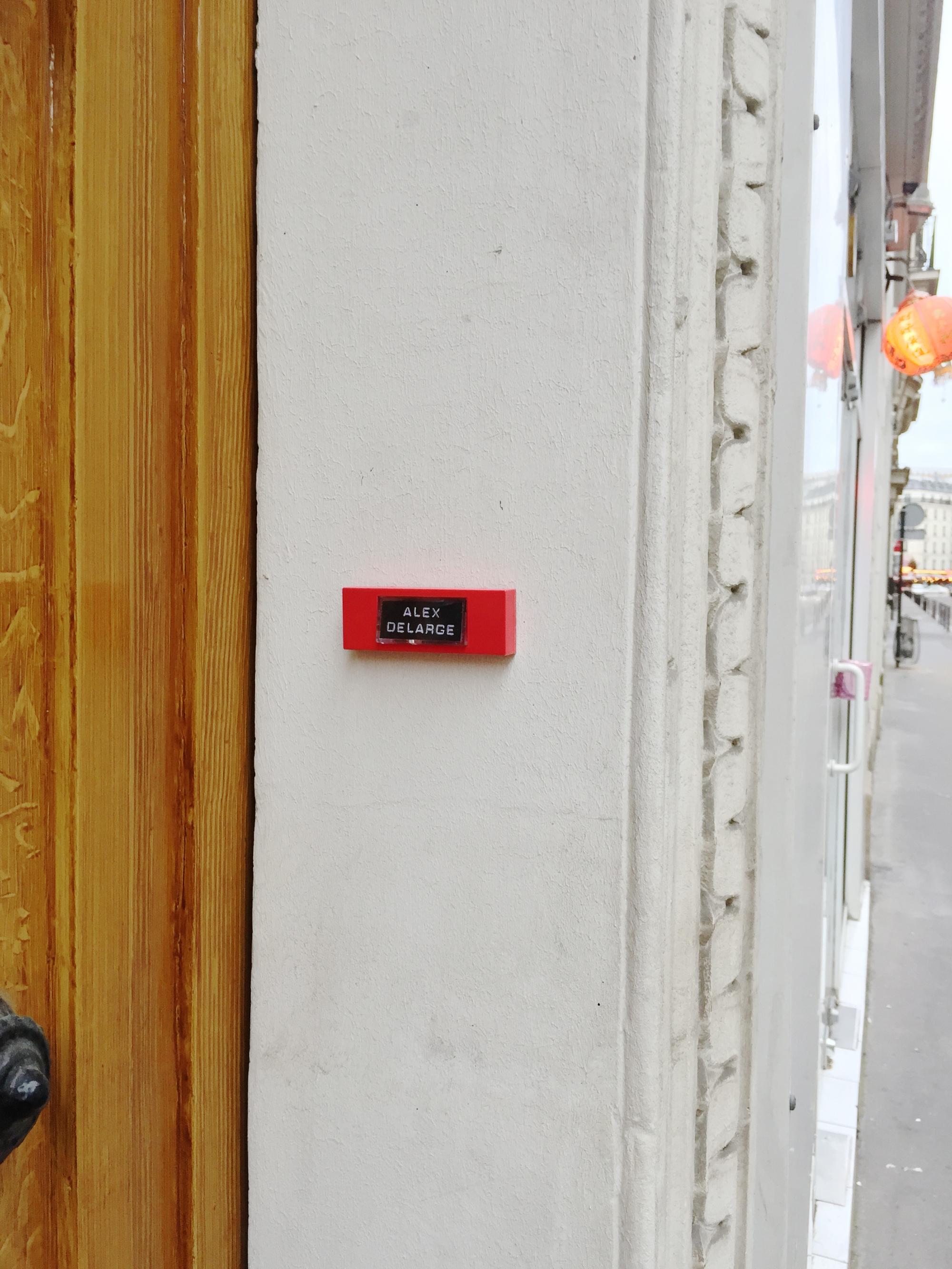 """Clockwork Orange""""Alex Delarge""""– Paris 9ème arrondissement – 2014 – Le Sonneur"""