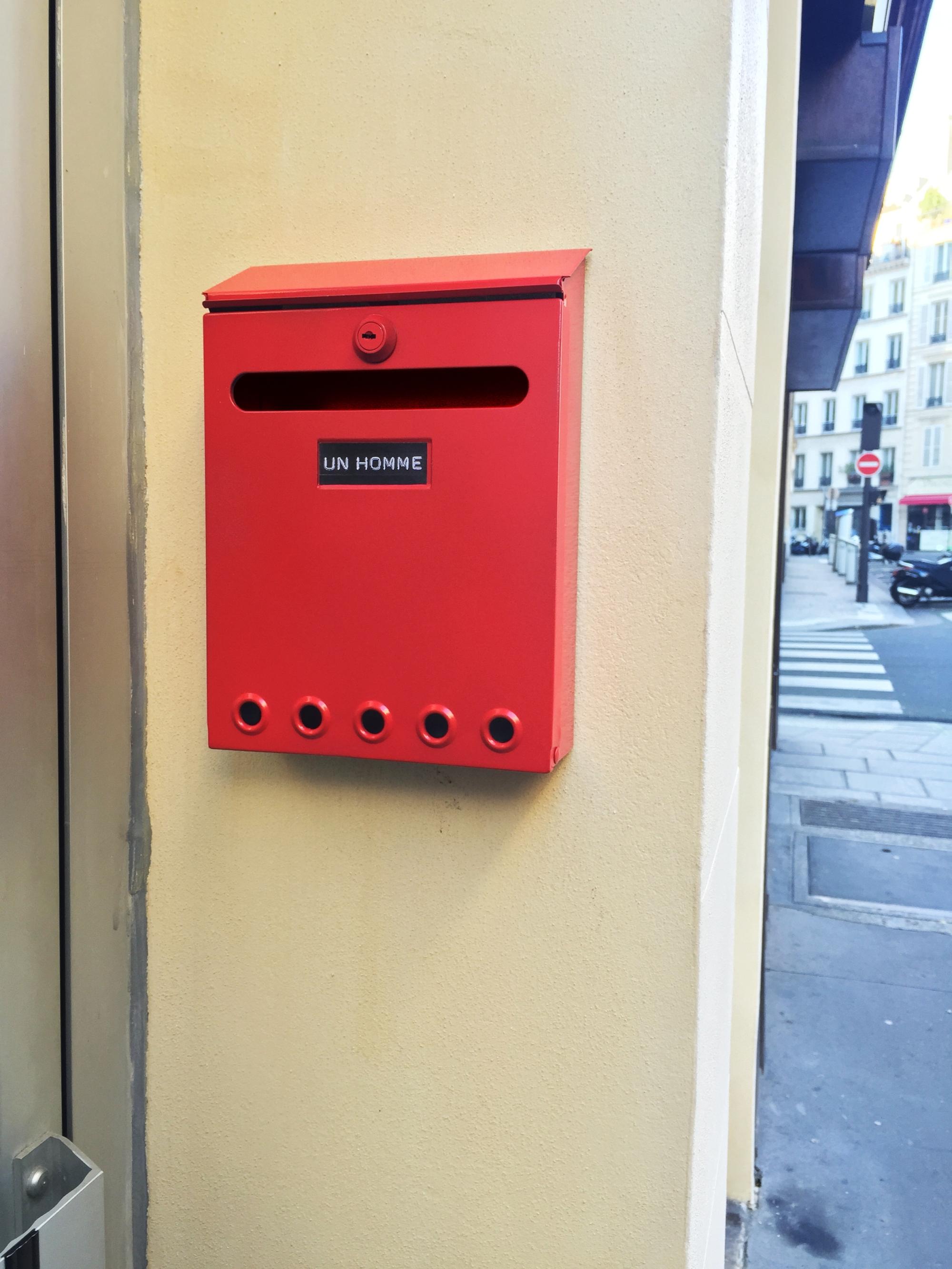 Boxe 1 – Paris 9ème arrondissement – 2015 – Le Sonneur