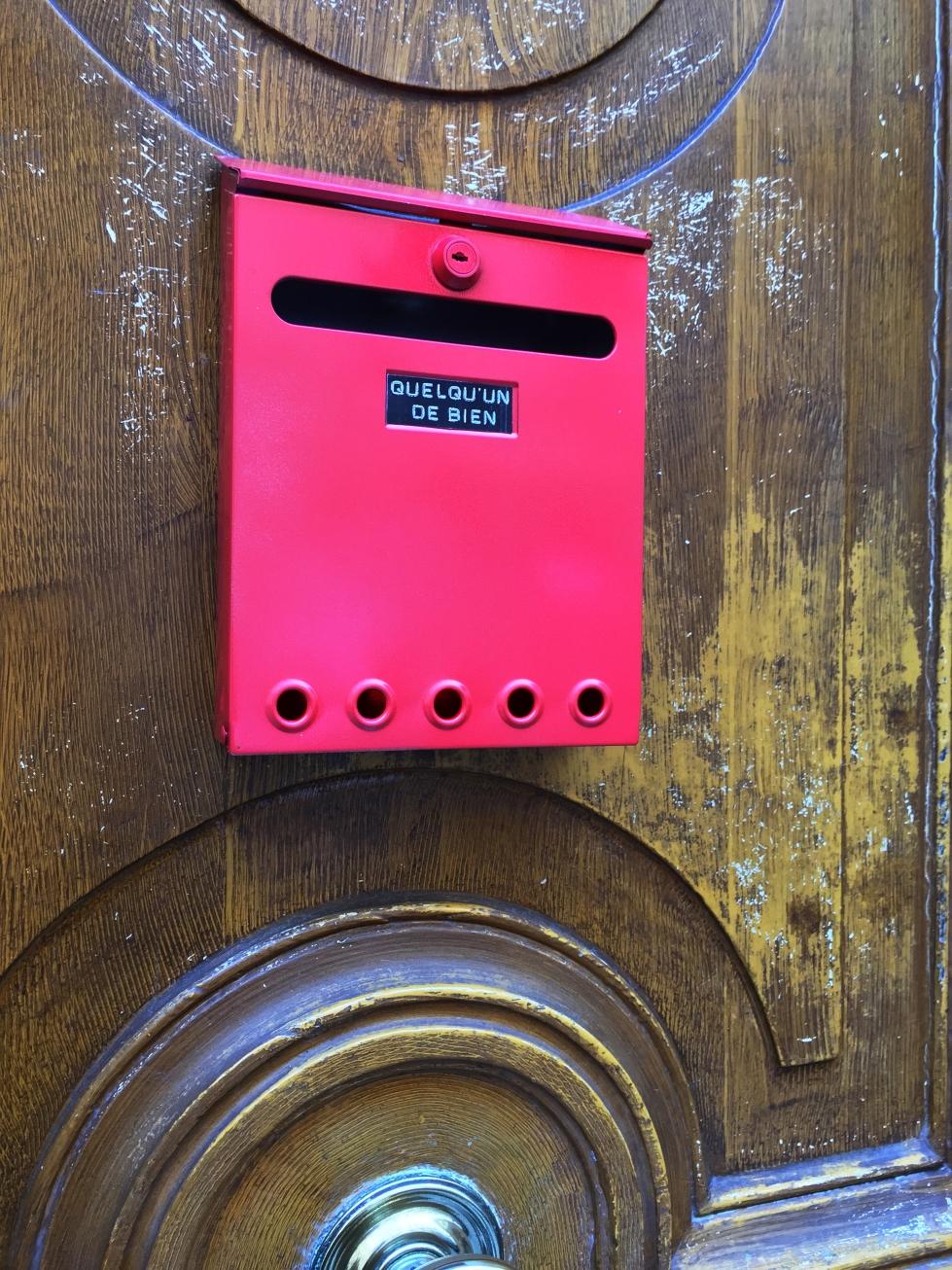 Boxe 2 – Paris 9ème arrondissement – 2015 – Le Sonneur