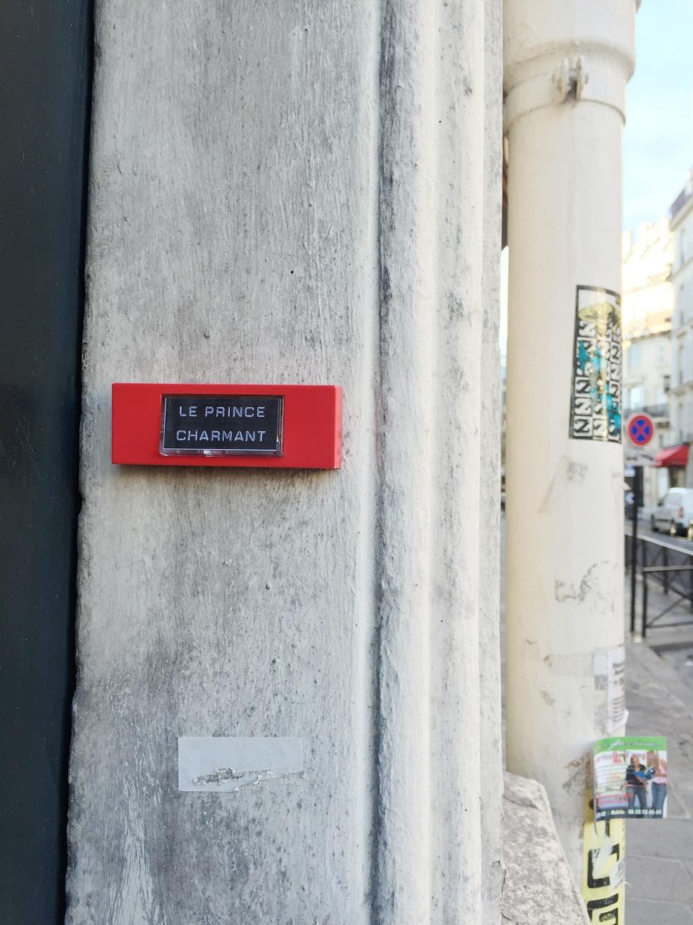 Tout près– Paris 9ème arrondissement – 2015 – Le Sonneur