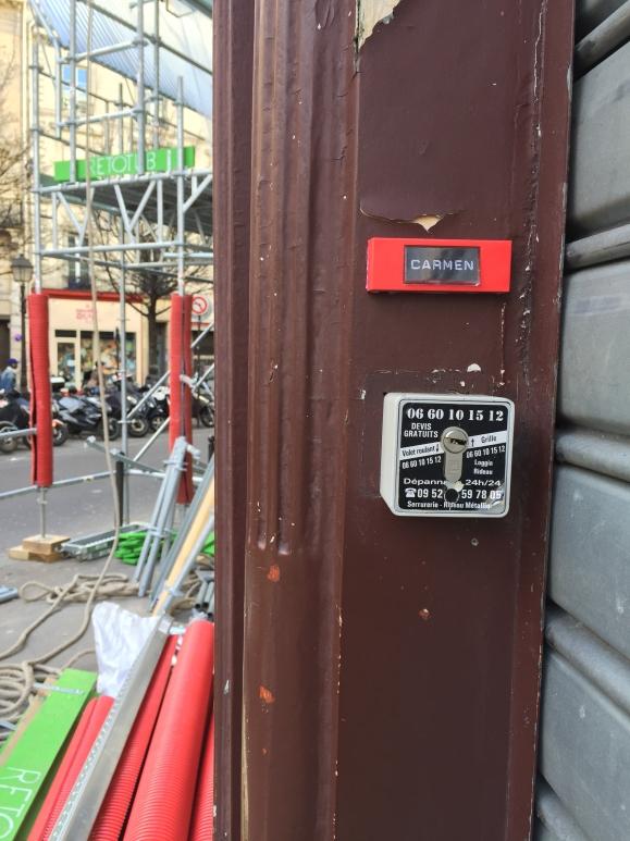 """""""Carmen"""" - Hôtel particulier de Georges Bizet - 34 rue Duperré 75009 Paris - 2015 - Le Sonneur"""