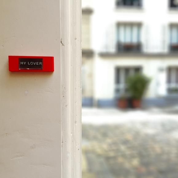 My Parisian Lover– Paris 9ème arrondissement – 2015 – Le Sonneur
