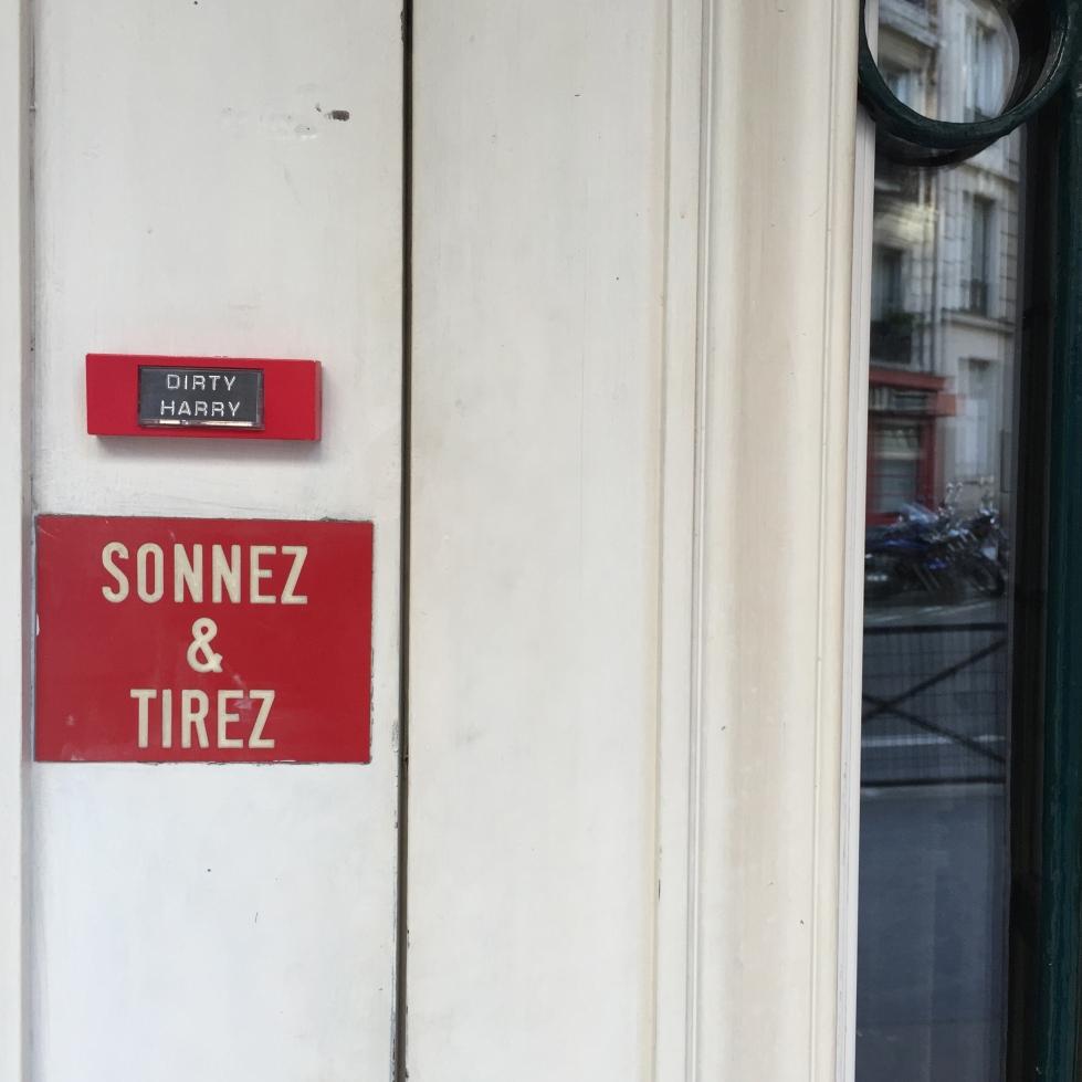"""Dirty Harry """"Harry Callahan"""" - Paris 18ème arrondissement - 2015 - Le Sonneur"""