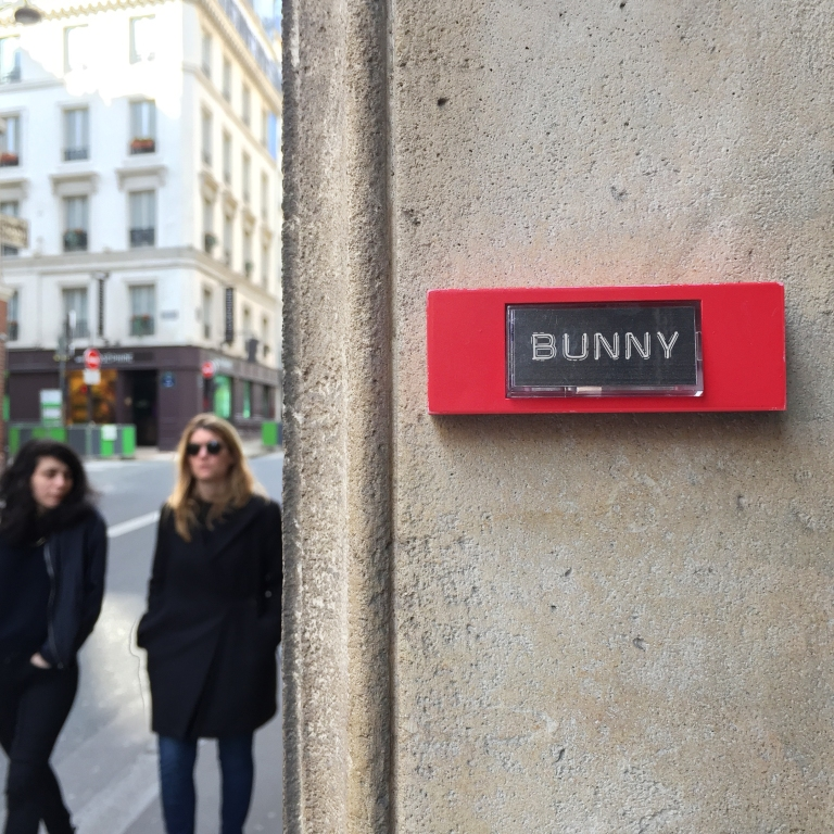 "What's up Doc ? ""Bunny"" - Paris 9ème arrondissement - 2015 - Le Sonneur"