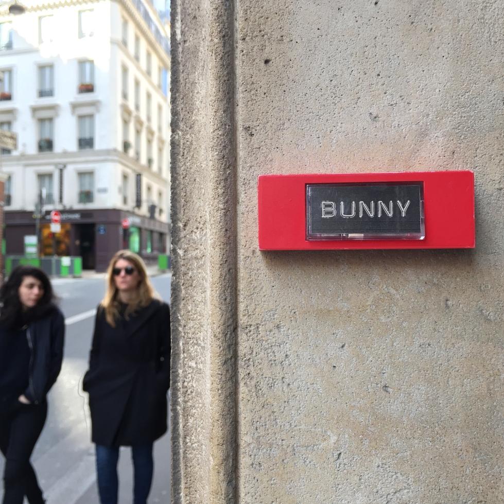 """What's up Doc ? """"Bunny"""" - Paris 9ème arrondissement - 2015 - Le Sonneur"""