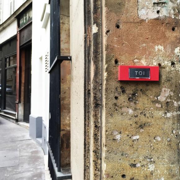 """Souvenir """"Toi"""" - Paris 9ème arrondissement - 2015 - Le Sonneur"""