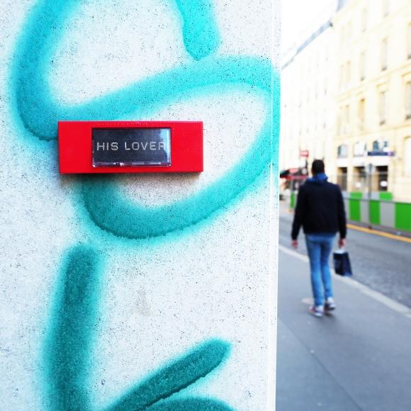 5 to 7 « His lover » – Paris 8ème arrondissement – 2015 – Le Sonneur