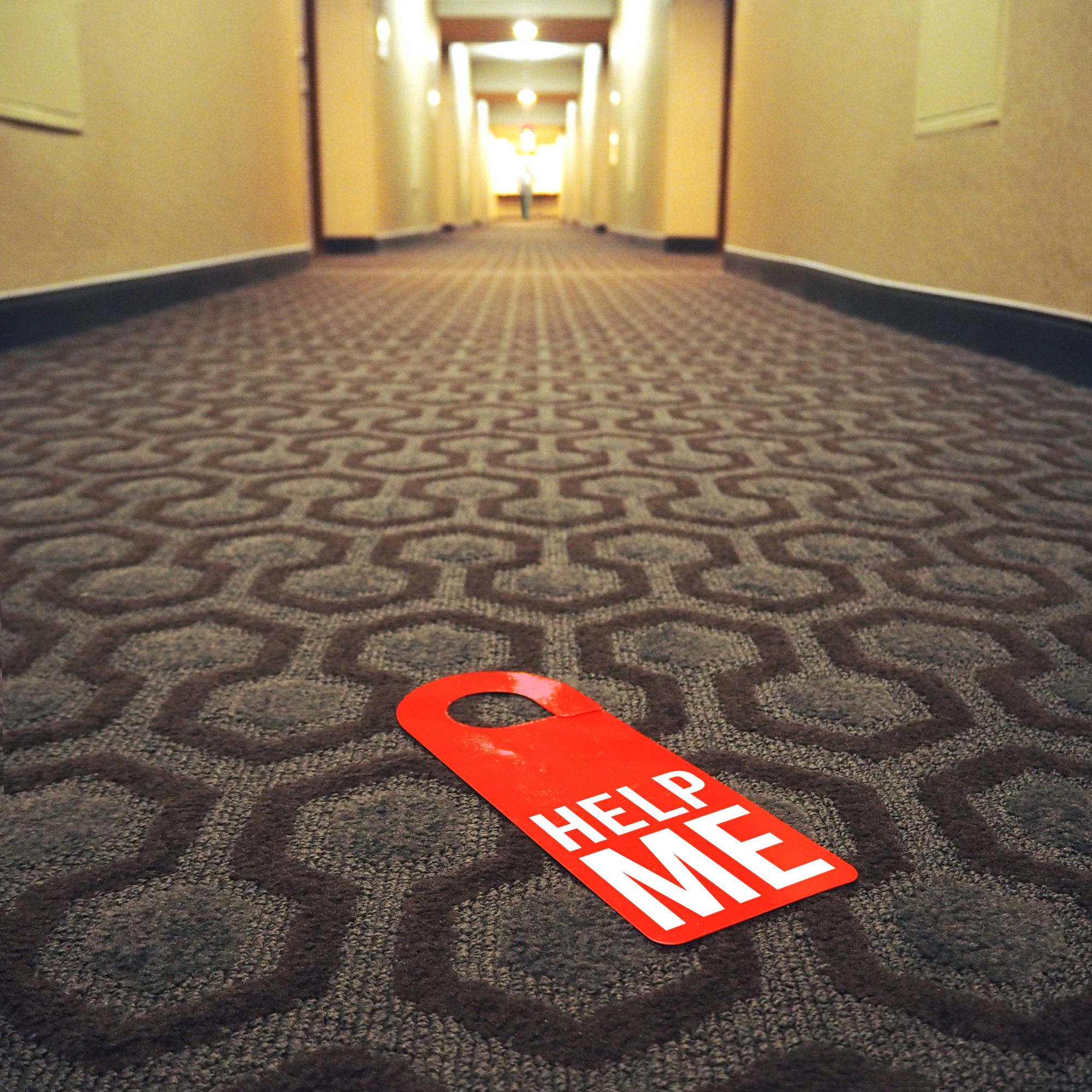 Door hanger « Help me » – Los Angeles – 2016 – Le Sonneur