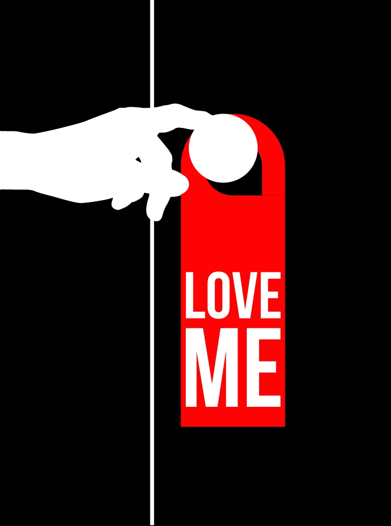 « Love me » door hanger – Drawing – 2016 – Le Sonneur