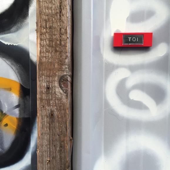 """En chantier """"Toi"""" – Paris 18 ème arrondissement – 2016 – Le Sonneur"""