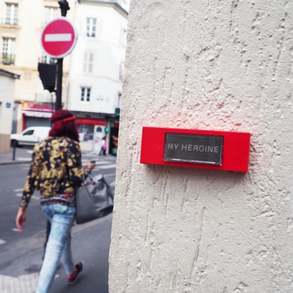 « My Hero » – Paris – 2016 – Le Sonneur