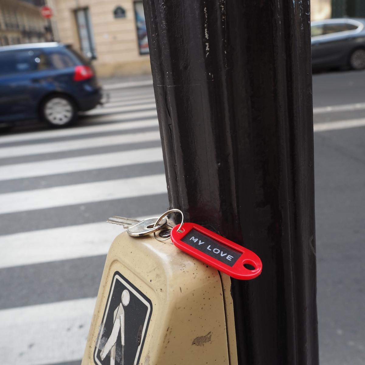 Lost and found « My Love » Key – Paris – 2016 – Le Sonneur