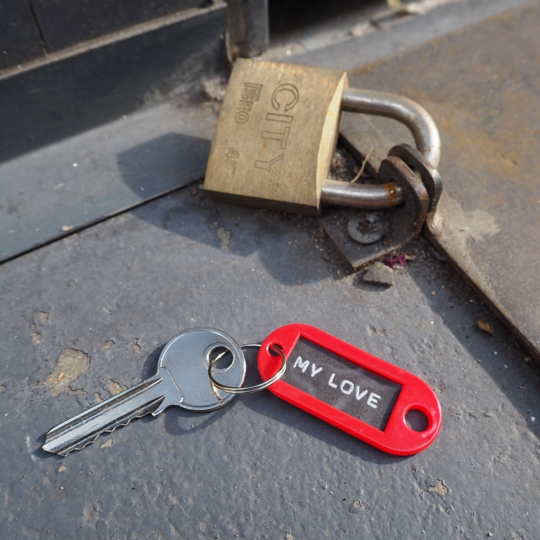 Lost and found « My Love » Key – Paris – 2016 – Le Sonneur