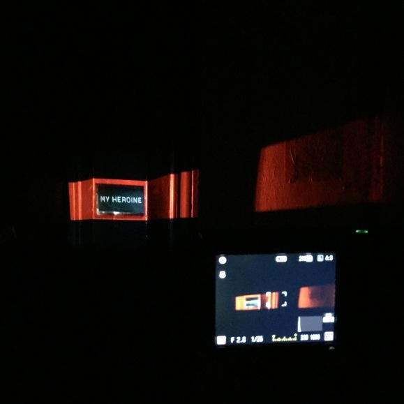 « My Heroine » Video projection – Paris – 2016 – Le Sonneur