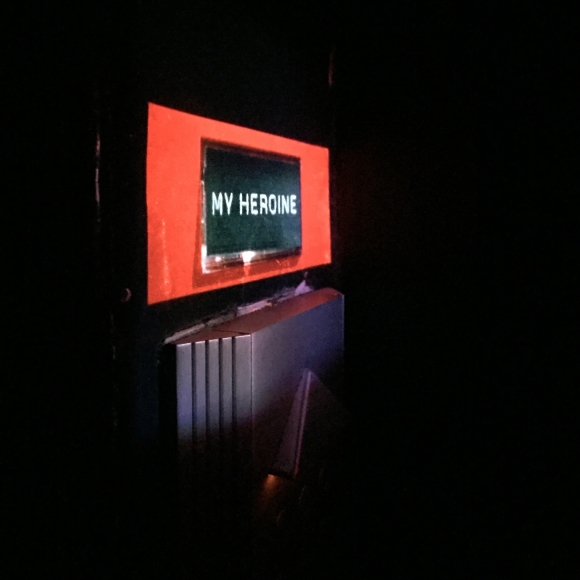 « My Heroine » Video projection – Paris – 2016 – Le Sonneur