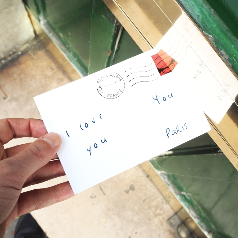 Love Letter « I love you » – Paris – 2017 – Le Sonneur