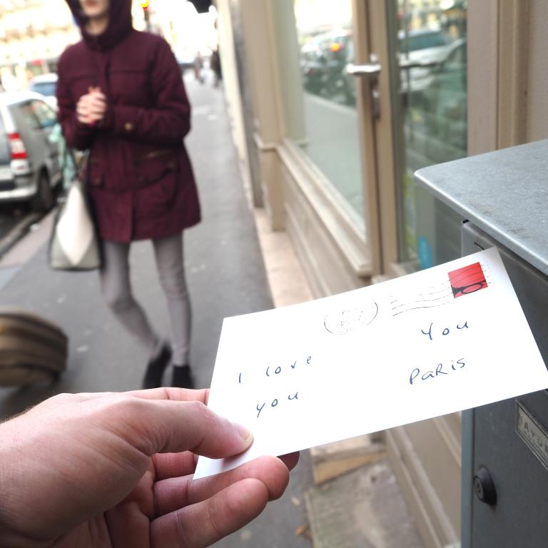 Love Letter « I love you » – Paris – 2017 – Le Sonneur