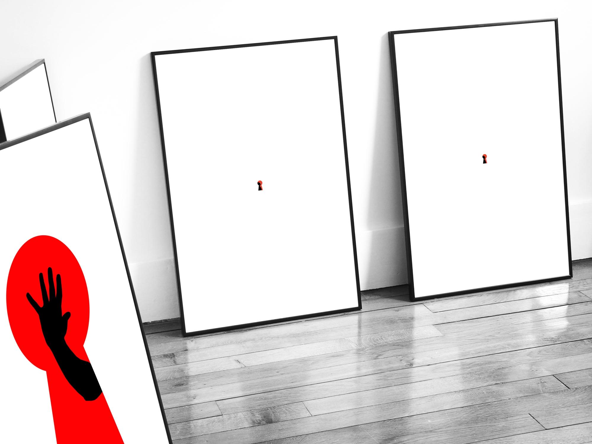 Door Hangers Prints – Paris – 2017 – Le Sonneur