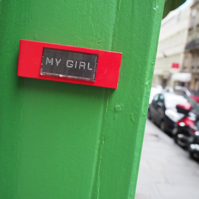 « My Girl » – Paris – 2017 – Le Sonneur