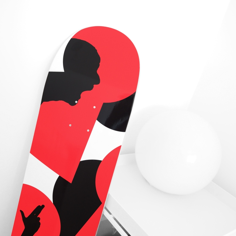 Skateboard deck « Shadow Boards » – Paris – 2017 – Le Sonneur