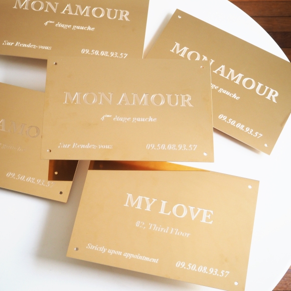 """Mon Amour """"Sur Rendez-vous"""" - Le Sonneur - Paris - 2018"""