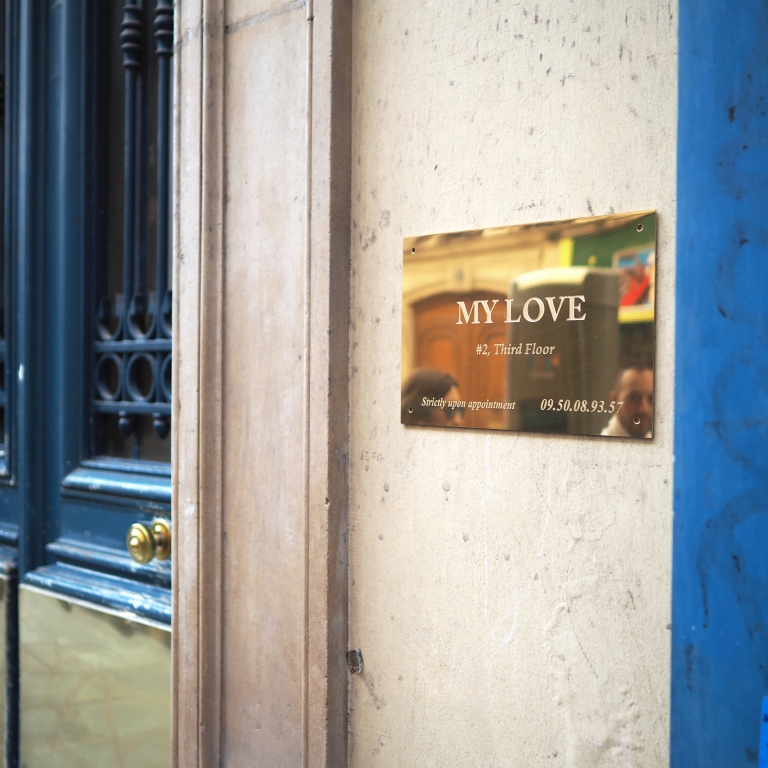 My Love « Strictly Upon Appointment » – Le Sonneur – Paris – 2018