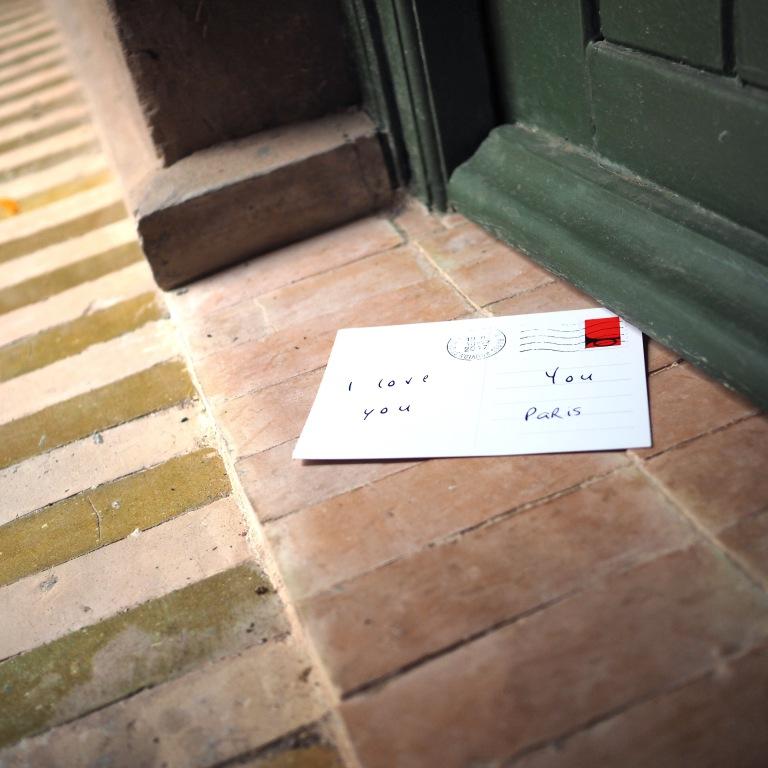 Left love letter « I love you » – Marrakech – 2018 – Le Sonneur