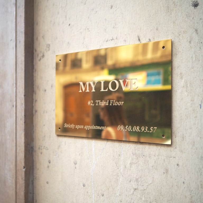 My Love « Strictly Upon Appointment » – Le Sonneur – Paris – 2018