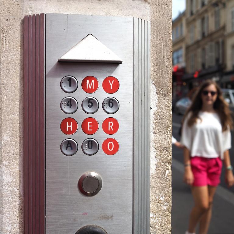 Door Code « My Hero » – Le Sonneur – Paris – 2018