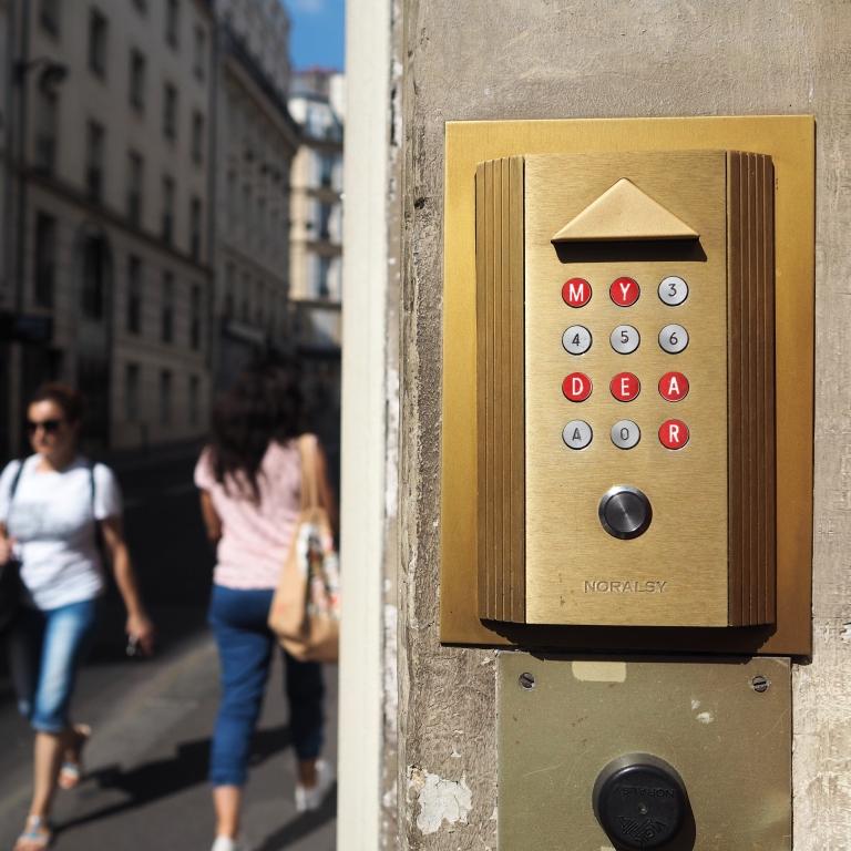 Door Code « My Dear » – Le Sonneur – Paris – 2018