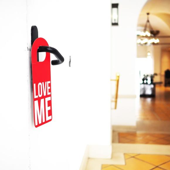 Door Hanger « Love Me » – Albufeira – 2018 – Le Sonneur