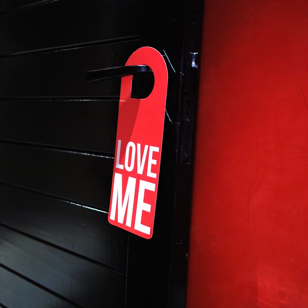 Door Hanger « Love Me » – Marrakech – 2018 – Le Sonneur
