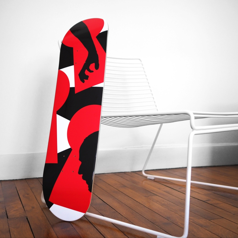 Skateboard deck « Shadow Boards » – Paris – 2018 – Le Sonneur