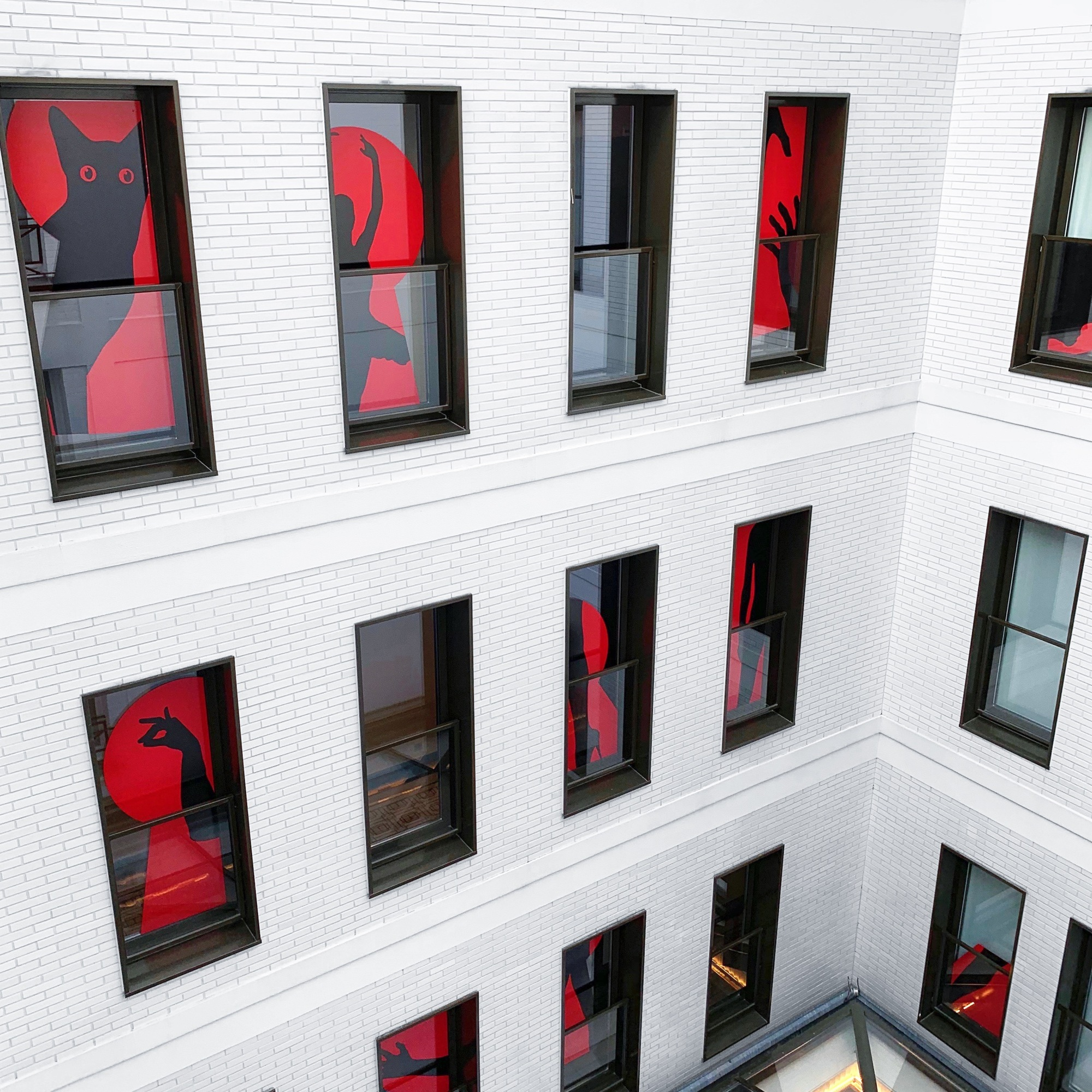 « Rear Windows » Solo Show - 15.11.18 - 15.03.19 - Le Tsuba Hôtel 45 Rue des Acacias - Paris - 2018 - Le Sonneur