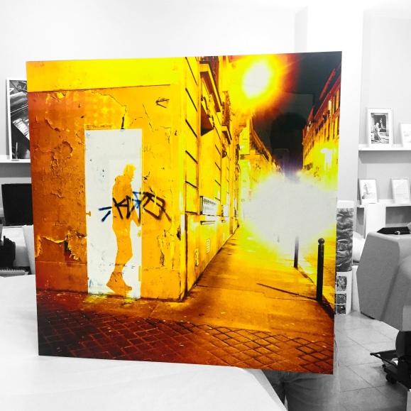 """""""Fleeting Door Rue Blanche"""" - Photography - le Sonneur - 2018"""
