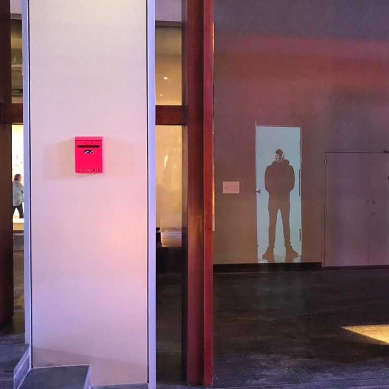 """For My Love"" Installation and ""Fleeting Door"" Video Installation for DIFC Art Nights - Dubai - Le Sonneur - 2019"