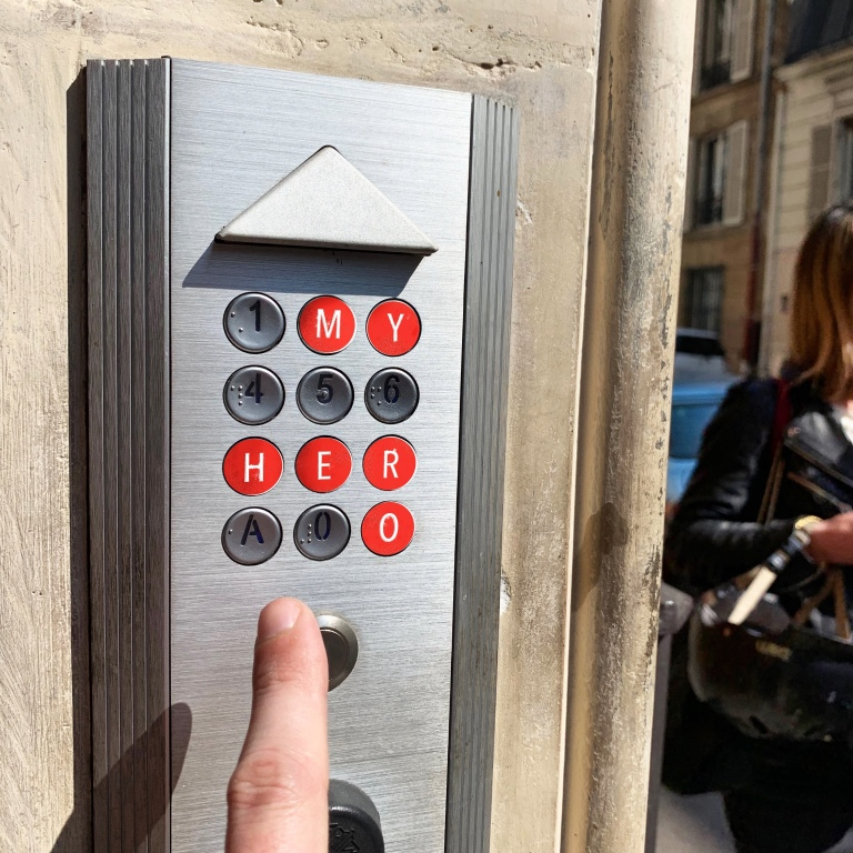 Door Code - Le Sonneur - Paris - 2019