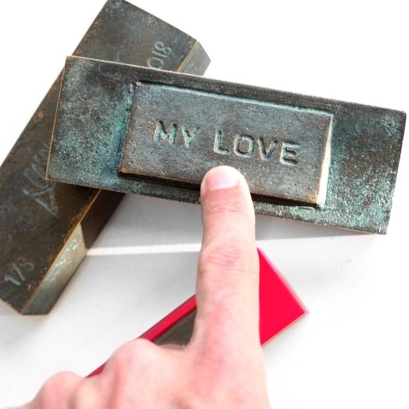 """""""My Love"""" Bronze Doorbell - Le Sonneur - 2019"""