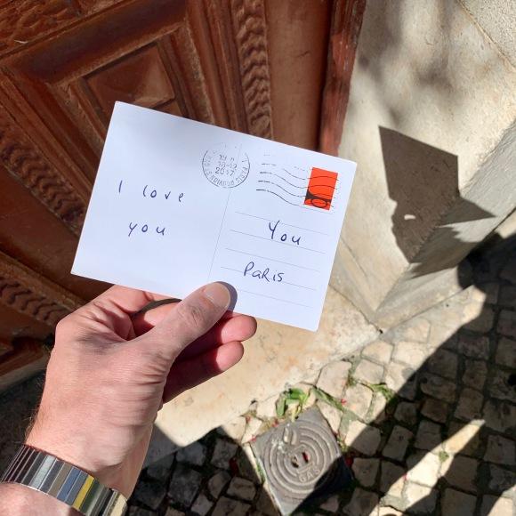 Left Love Letter « I Love You » Bell – Le Sonneur – Lisbon – 2019
