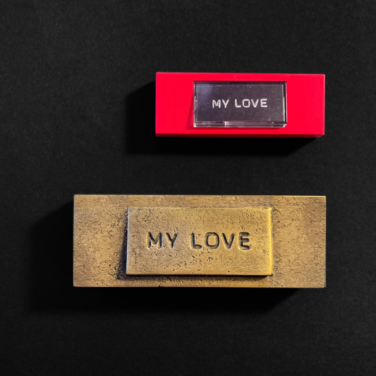 """My Love"" Bronze Doorbell – Le Sonneur – 2019"