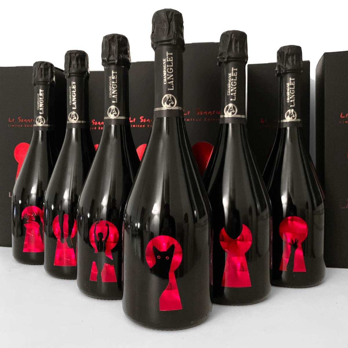 Le Sonneur X Champagne Langlet - Limited Edition - 600 numbered bottles of Vintage Champagne - 2019