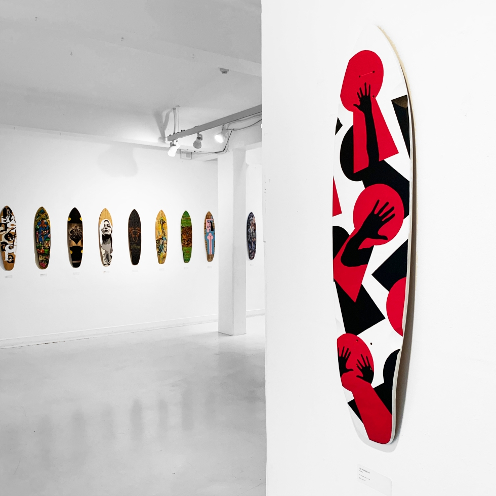 """Voyeur"" Skateboard Deck 