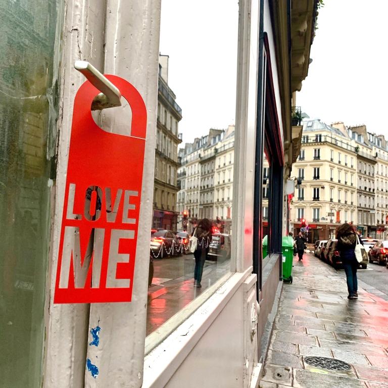 Door Hanger Love Me - Steel Limited Edition - Le Sonneur - 2019