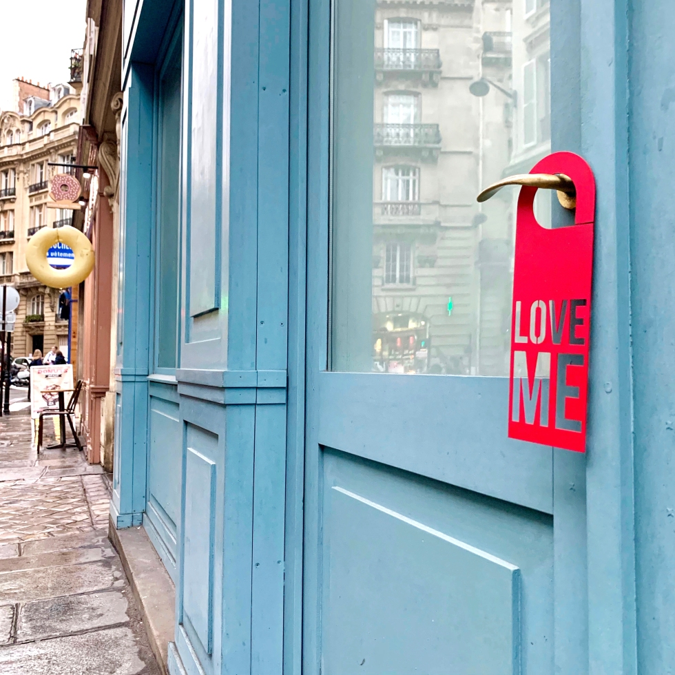 Door Hanger Love Me - Steel Limited Edition - Le Sonneur - 2019