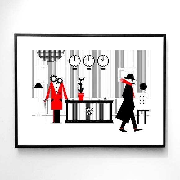 Le Concierge, l'Adjointe et le Galeriste – The Hotel – Le Sonneur – 2020