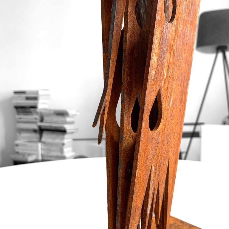 Le Pleureur - Steel Sculpture - The Hotel - Le Sonneur - 2020