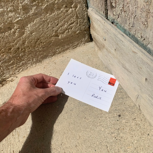 Left Love Letter « I Love You » – Le Sonneur – Somewhere – 2020