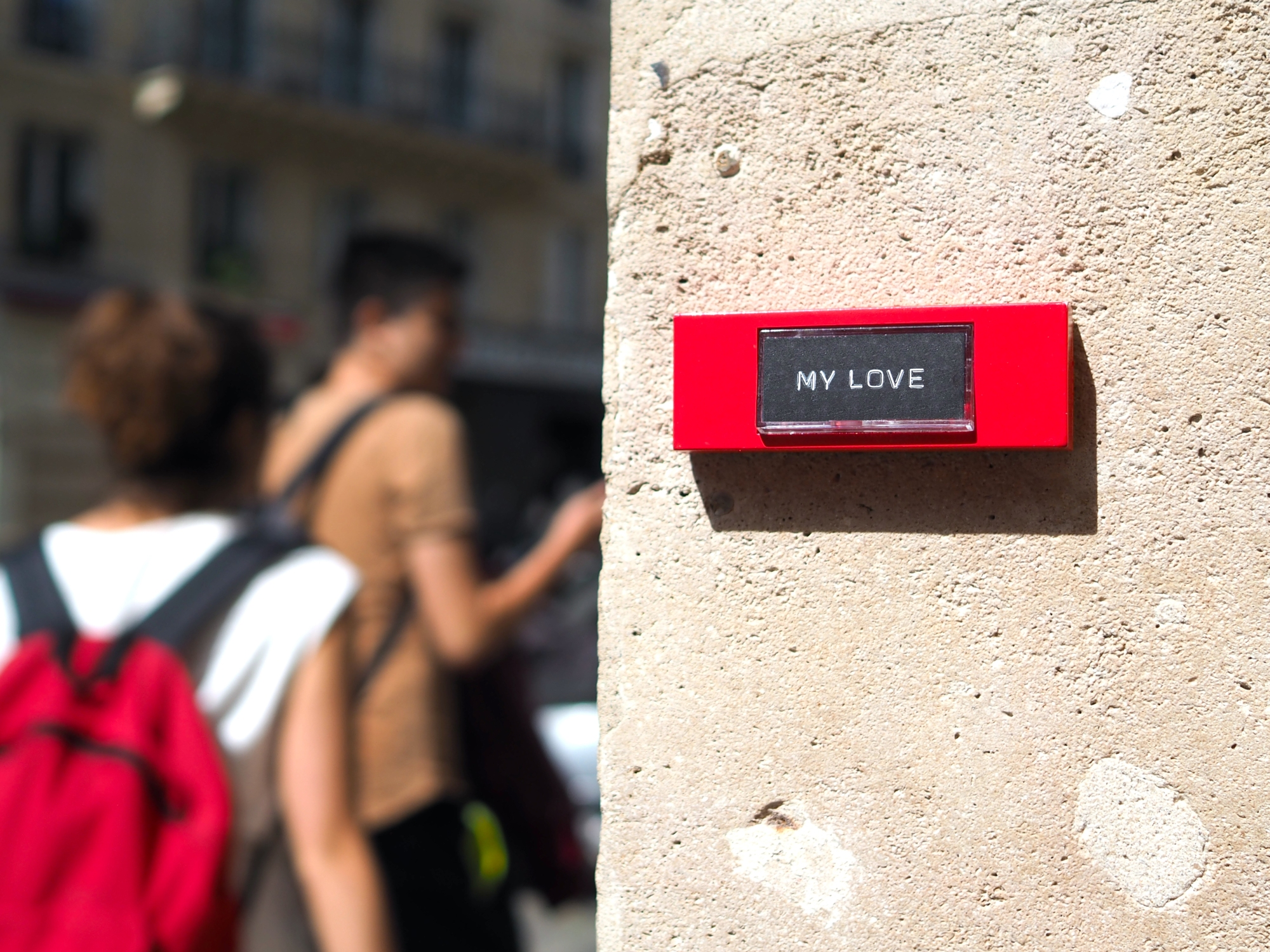 Bell « My Love » – Paris – 2020 – Le Sonneur